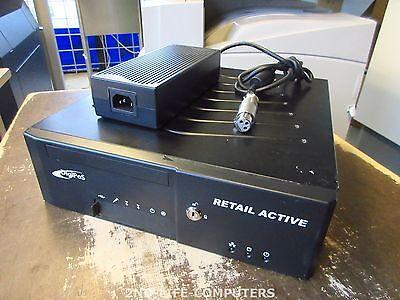 DigiPos Retail Active 8000 POS PC 12V/24V P-USB C2D 2,2GHz 4GB / 250GB INCL PSU