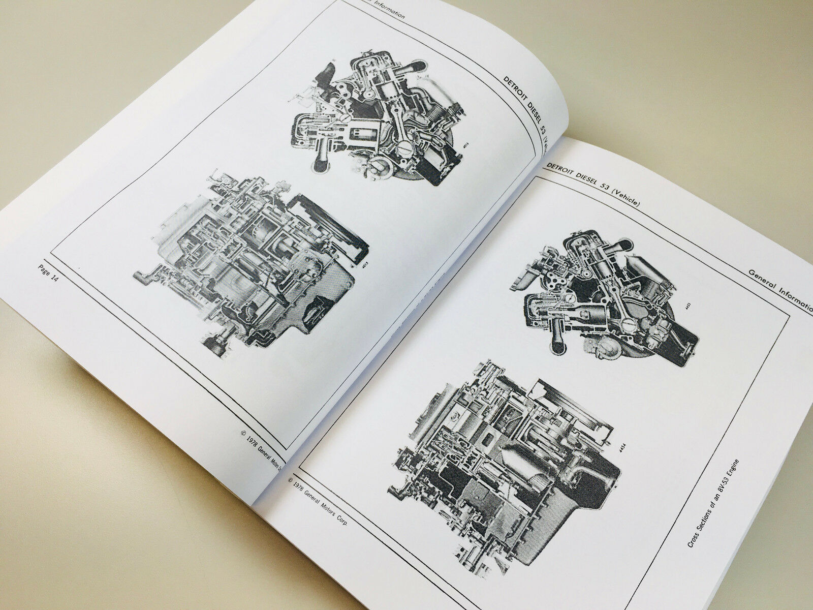 Detroit Diesel 3 53 4 6v 8v Series Engine Service Manual Wiring This Is A New Reproduction Of Factory Original Equipment Manufacturers Oem