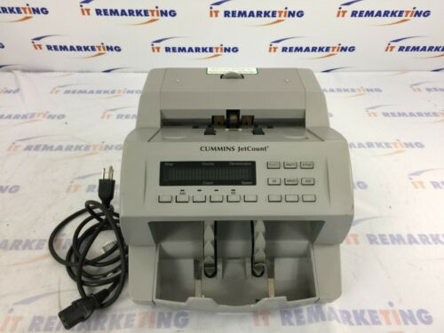 Cummins JetCount 4021 Currency Bill Counter (P/N:406-9901-00) - Tested
