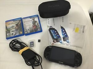 Brand New !!!!! PS VITA (NEVER USED) ( Collection ) (RARE)