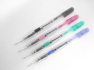 4 Colors Barrel Pentel Techniclick Pd105t 0.5mm Mechanical Pencilmade In Japan