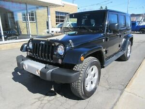 2015 Jeep Wrangler Unlimited Sahara *2 TOITS*