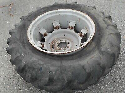 Massey Ferguson 596 Rear Tire And Wheel 18.4 X 34 Goodyear