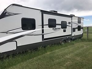 Trailer with Quad Bunk Room