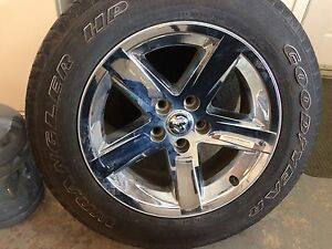 20 inch Dodge Ram 1500 Polished Rims