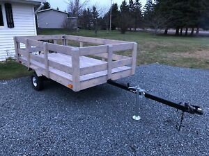 5' x 9' Utility Trailer for sale or trade...want gone!