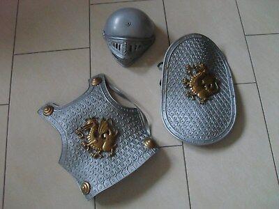 Ritterrüstung, Ritterkostüm, Ritter, Kostüm,Schutzschild,Helm,Fasching, Karneval (Ritter Schild Kostüm)