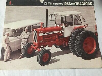 New International 1256 Turbo Tractor 6 Pages 1968