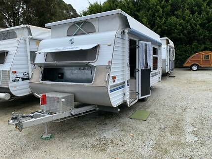Crusader Poptop - 2001 - Isl Dbl - Air Con - Annexe - Battery Warragul Baw Baw Area Preview