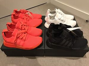 Adidas NMD R1 Triple Black White Red US8.5 9 9.5 Yeezy Ultra Boost Melbourne CBD Melbourne City Preview
