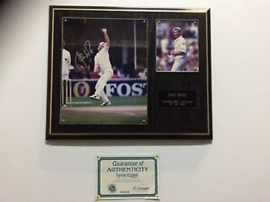 Shane Warne Signed Memorabilia Ormond Glen Eira Area Preview