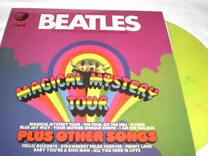 beatles vinyl records magical mystery tour ebay. Black Bedroom Furniture Sets. Home Design Ideas