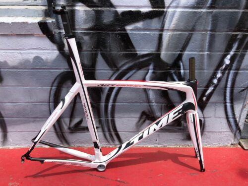Amazing New Old Stock Time NXR Instinct Carbon Fiber Road Bike Frameset Size M