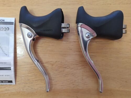 Brake Levers Shimano 600 600EX BL-6209 Aero for Road Bicycle NOS