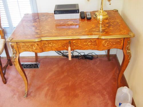 Antique Marquetry Desk