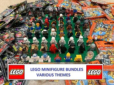 CHEAP LEGO MINIFIGURES bundles/joblots - STAR WARS LOTR SERIES MARVEL DC NINJAGO