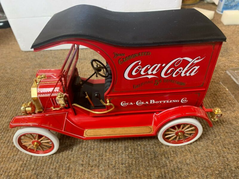 Franklin Mint Diecast 1913 Ford Model T COCA COLA DELIVERY TRUCK