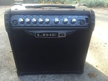 Line 6 III Spyder 15 Watt Guitar Amp & Guitar Abbotsford Canada Bay Area Preview