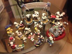 """""""Moo Moo"""" cow figurine collection"""