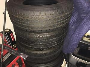 Dunlop tyres came off 200 series landcruiser Mandurah Mandurah Area Preview
