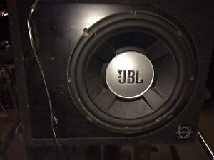 12 inch JBL sub with Rockford fosgate punch P600 amp