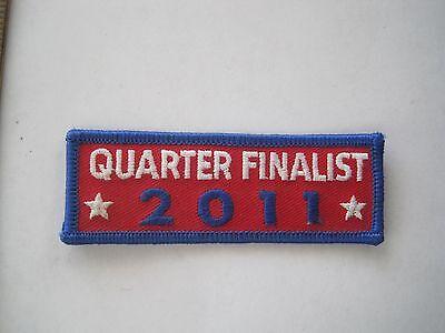 2011 Quarter Finalist Patch