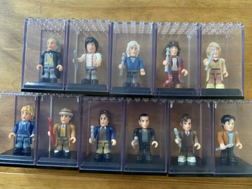 Doctor Who Character Building complete 50th anniversary blind bag wave LEGO