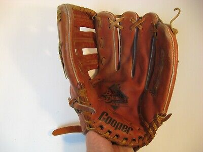 Fielders Mitt - Cooper Fielders Mitt Glove Black Diamond 608 Softball Baseball RHT