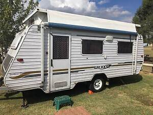 2004 Galaxy Pop Top Caravan with Full Annex Upwey Yarra Ranges Preview