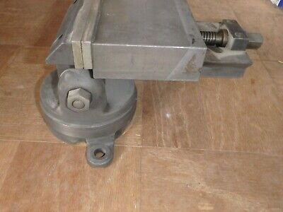Machinist Mill Vise 5 38 Wide Jaw 2 38 Opening With Indexing Base