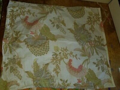 "Pottery Barn ""Palampore Floral"" Standard Pillow Sham"