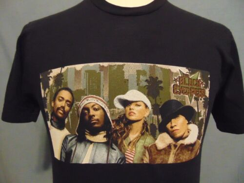 The Black Eyed Peas T Shirt Mens S Concert Monkey Business Tour 2005 Black