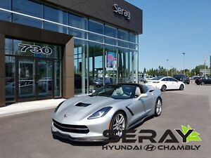 2014 Chevrolet Corvette Stingray Z51, 3LT, HUD, suspension magné