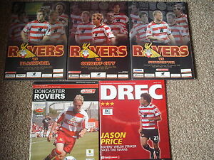 5-DONCASTER-ROVERS-HOME-Programmes-2005-2008-Southampton-Cardiff-Swansea-City