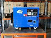 PORTABLE DIESEL GENERATOR 6kVA 415V in canopy Raceview Ipswich City Preview