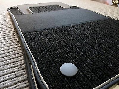 Lengenfelder Rips Fußmatten für Mercedes Benz CLK W208 C208 A208 AMG SPORT + NEU