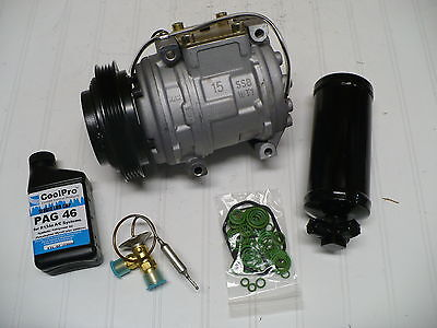 New A/C AC Compressor Kit for 1991-2005 Acura NSX (3.0L, 3.2L)