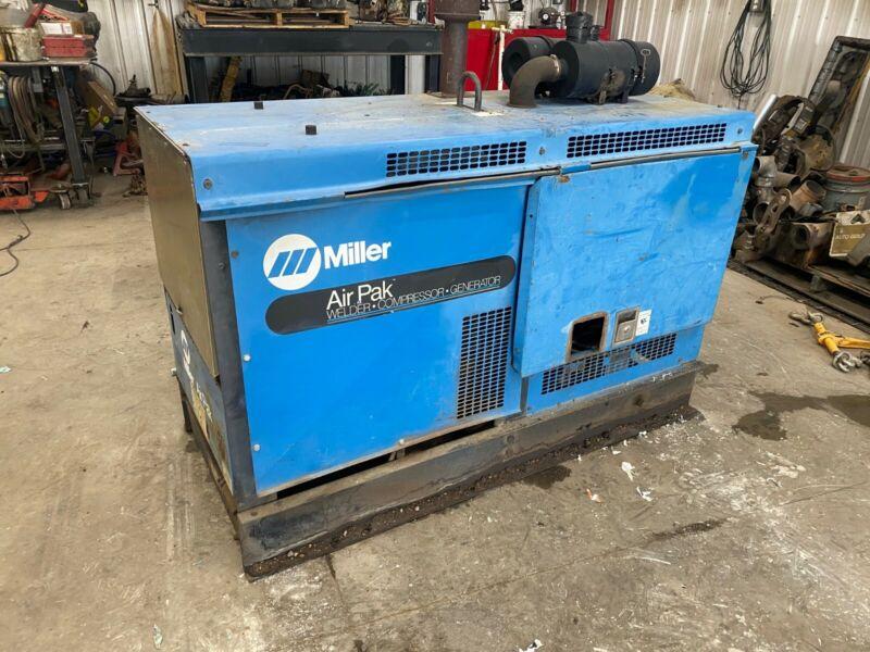 Miller Airpak 500 welder generator compressor