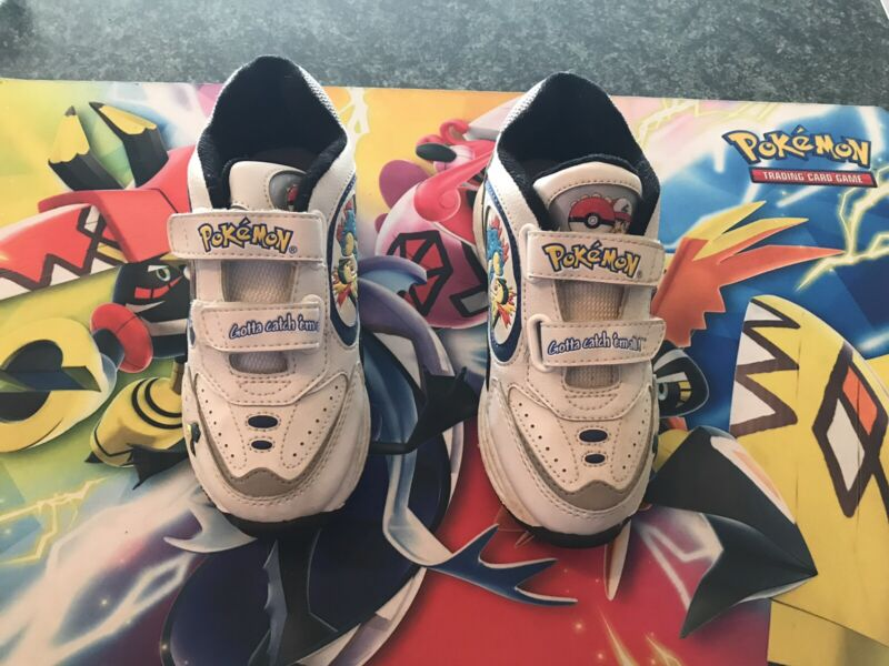 Pokemon Kids Shoes Size 13 Vintage