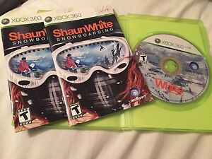 Shaun White snowboarding for Xbox 360 games