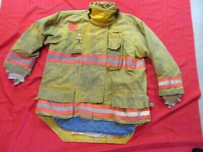 2007 Morning Pride Drd 50 X 34 Firefighter Turnout Jacket Coat Bunker