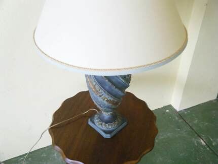 Large ceramic table lamp shade