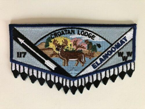 OA (BSA) Croatan Lodge #117 - 2013 Elangomat Flap (Blue)