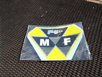 Massey Ferguson Industrial Yellow 35 65 35x Seat Decal Sticker 203
