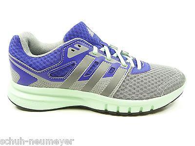 adidas Damen Sportschuhe Laufen Jogging Running in Grau Lila Mint (Galaxy 2w)