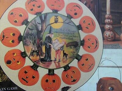RARE HALLOWEEN BRUCE ELSASS VINTAGE COLLECTION HOBGOBLINS GAME BETHANY LOWE
