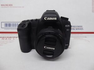 Canon EOS 5D Mark II 21.1MP Digital SLR Camera - Black with 50mm Lens (DS126201)