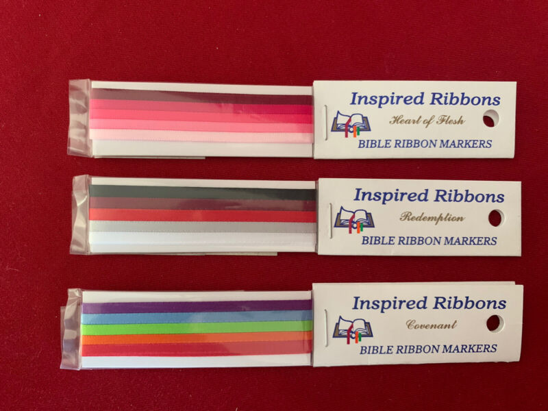 Bible Ribbon Markers By Inspired Ribbons (Made in USA)