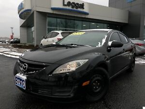 2010 Mazda Mazda6 GS-AUTOMATIC, AIR CONDITIONING, ALLOY WHEELS
