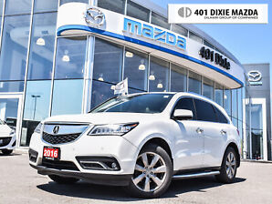 2016 Acura MDX Elite Package|ONE OWNER|NO ACCIDENTS|